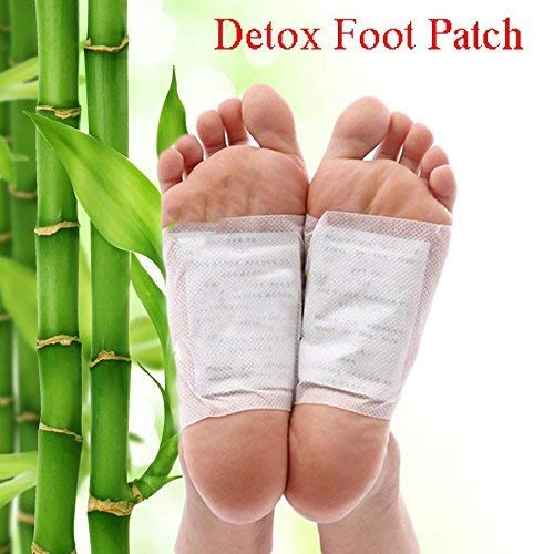The Bling Stores Premium Detox Foot Pad, Cleansing Toxin Remover Foot Patches, Organic Weight Loss Patch, For Men & Women Pack of 10