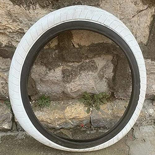 HAOKAN Neumático de bicicleta BMX de 20 pulgadas 406 Neumático de bicicleta 202.4 (color: blanco) (color: azul)