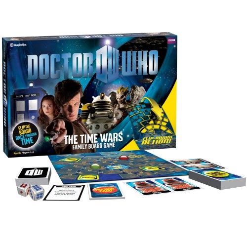 Dr Who - Die Zeit Kriege Brettspiel (Englisch)