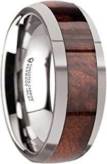 redwood inlay ring