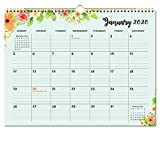 2020-2021 Calendar - 18 Month Wall Calendar with Premium Thick Paper, 15' x 11.6', Ruled Blocks, Sturdy Gold Wirebound, Perfect for Organizing & Planning