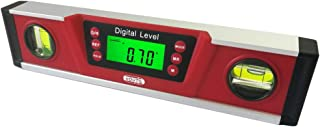 Digital Magnetic Level and Protractor - eOUTIL 10 Inch Electronic Bubble Inclinometer with Large LCD Display & Durable Aluminum frame - Dust & Waterproof IP54 - Batteries and Carrying Bag Included