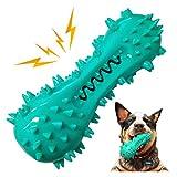 YooHome Hund kaut Spielzeug Zahnbürstenreinigung, unzerstörbares Hundespielzeug Quietschendes Kausnackspielzeug Zähneputzen für kleine mittlere Welpen