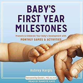 Baby's First Year Milestones audiobook cover art