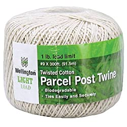Image: Wellington Cordage Parcel Post Twine | made from natural soft fiber which handles easily and holds knots securely | made from natural soft fiber which handles easily and holds knots securely