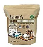 Anthony's Organic Gluten Free Flour, 4 lb, Multipurpose 1 to 1 Baking Flour, Non Dairy, Product of USA