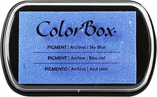 Clearsnap ColorBox klassisches Stempelkissen mit Pigmentfarbe, vollständige Größe, Boysenbeere, himmelblau, 1 Stück