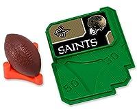 CAKEMAKE NFL Football & Tee, Cake Topper, New Orleans Saints