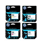 HP 711 Ink Cartridge Bundle Consists of HP 711 38-ML...