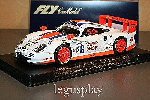 Garantía 100% de ajuste Fly - - - Scalextric slot 88031 Porsche 911 GT1 Evo 24H. Daytona 2003 - A58  barato