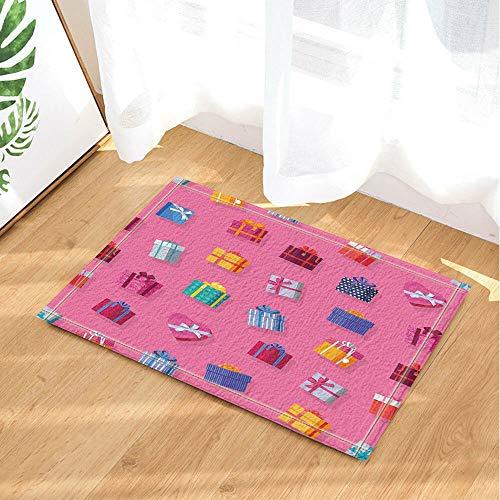 /N Hermosa Caja Cortina de Ducha Tela de baño y 12 Ganchos 71 * 71in