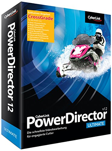 Cyberlink PowerDirector 12 Ultimate Crossgrade