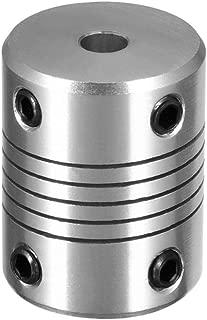 50mm Length Ruland MCLC-15-15-F One-Piece Clamping Rigid Coupling with Keyway Metric 34mm OD Black Oxide Steel 15mm Bore B Diameter 5mm x 5mm Keyway Width 15mm Bore A Diameter