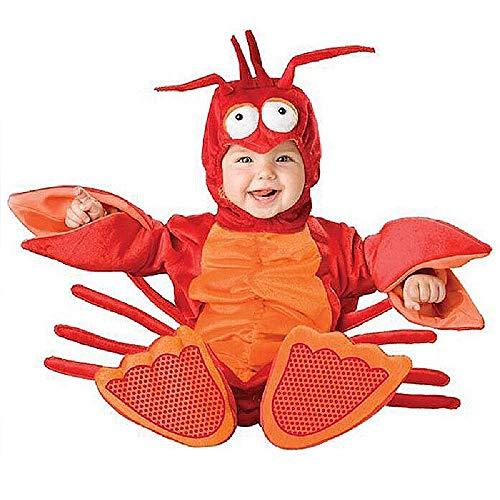COOGG - Disfraz de Elefante de Langosta para bebé, Disfraz para Halloween, Navidad, Animales, Ropa para niños, Cosplay, Disfraz, Ropa para niños