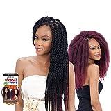 Freetress Equal Synthetic Hair Braids Havana Twist Style Cuban Twist 16' (2) by Milky Way