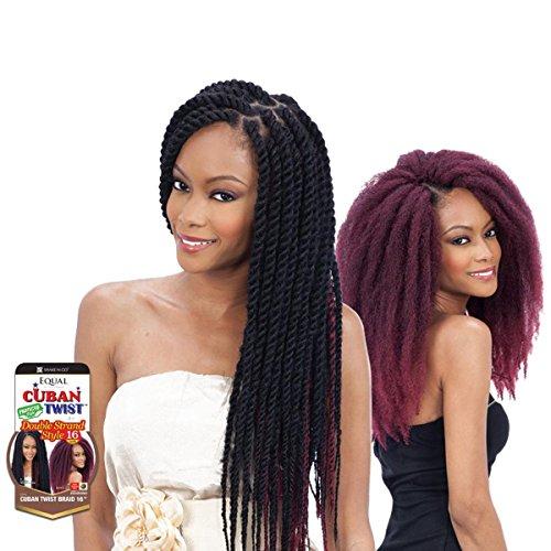 Freetress Equal Synthetic Hair Braids Havana Twist Style Cuban Twist...