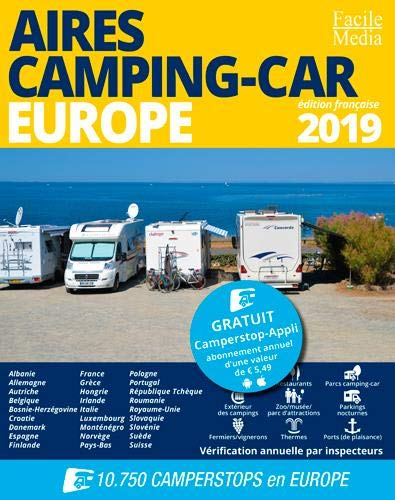 Aires Camping-car Europe 2019 (GUIDES - Divers)