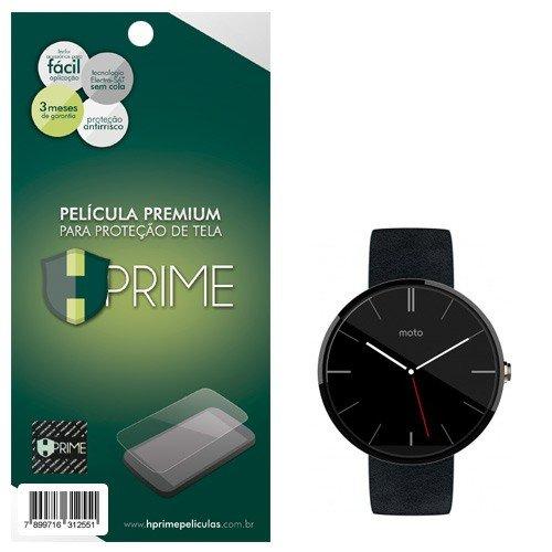 Pelicula Hprime invisivel para Motorola Moto 360 (Smartwatch), Hprime, Película Protetora de Tela para Celular, Transparente
