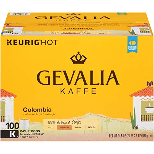 Gevalia Colombian Medium Roast Coffee Keurig K Cup Pods