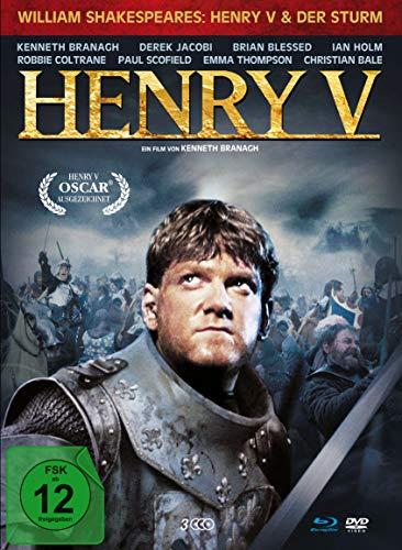 Henry V - limitiertes 3-Disc Mediabook (DVD + Blu-ray) inkl. Booklet