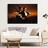 nr Kate Winslet Leonardo Dicaprio Wandkunst Poster Leinwand