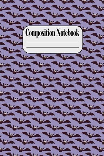 Halloween Composition NoteBook: october dreams a celebration of halloween | Back to School Notebook for Girls Boys Teens, Kids, Elementary, College, ... | Orange Spider Pumpkin Bat Monster Horror