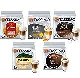 Tassimo Café Latte Macchiato Selección - Baileys/Gevalia/L'OR Latte Macchiato/Coffeeshop Selection...