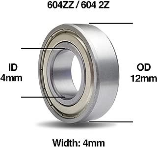 5x8x2.5 mm Flangiato Metallo Sigillato con GOMMA Cuscinetto 10 Pezzi MF85-2RS