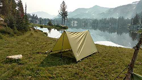 River Country Products Open Air Trekker Tent Shelter, Backpacking Shelter, Hammock Rain Fly Green