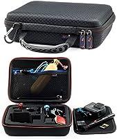 Digicharge Taşıma Seyahat Çantası Gopro Max Hero9 9 Hero 8 7 Hero8 Hero7 Akaso Campark Fitfort Garmin Apeman Xiaomi Yi...