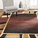 Home Dynamix Lyndhurst Rotana Area Rug, 7'8'x10'7' Rectangle, Brown/Black