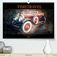 TIMETRAVEL (Premium, hochwertiger DIN A2 Wandkalender 2022, Kunstdruck in Hochglanz): VETERANEN 1907 - 1939 (Monatskalender, 14 Seiten )