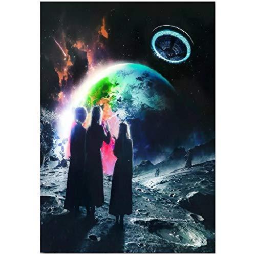 wzgsffs Lil Uzi Vert Eternal Atake Rap Hip Hop Music Album Star Póster E Impresiones Arte De Pared Impresión En Lienzo para Sala De Estar -24X32 Pulgadas X 1 Sin Marco