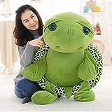 BHDWJ 80 cm Große Plüschtier Schöne Große Augen Gefüllte Schildkröte Kuscheltier Puppen Weiches Kissen Kleine Meeresschildkröten Für Kinder Geschenk