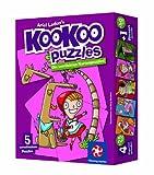 Winning Moves 30454 Kookoo Puzzles, Cuentos Divertidos - Puzzle (1 Grande y 4 pequeños formados por 24 Tarjetas)
