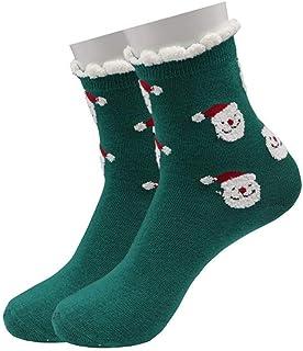 SYCJO, SYCJO Calcetines Calientes,Calcetines de algodón Otoño Invierno Navidad Nieve Regalo Calcetines de Toalla Calcetines Largos para niños Muñeco de Nieve Calcetines de algodón para