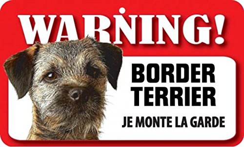 Plaque Border terrier \