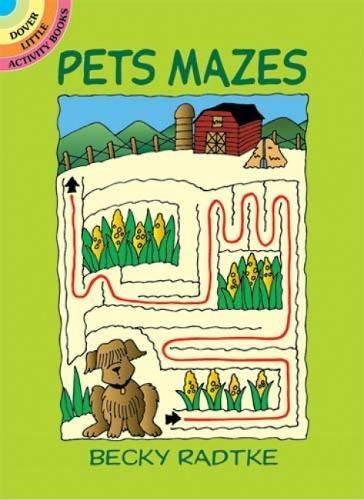 Pets Mazes (Dover Little Activity Books)