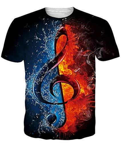 Fanient Männer T-Shirts Coole Neuheit Rundhalsausschnitt Bier Graphic T Shirt für Herren