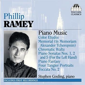 Ramey, P.: Piano Music, Vol. 1 (1961-2003)