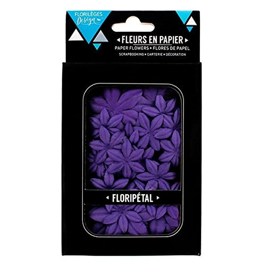 Florilèges Design fdf109?Flower Embellishment Blueberry Purple 17?x 9.7?x 1.4?cm