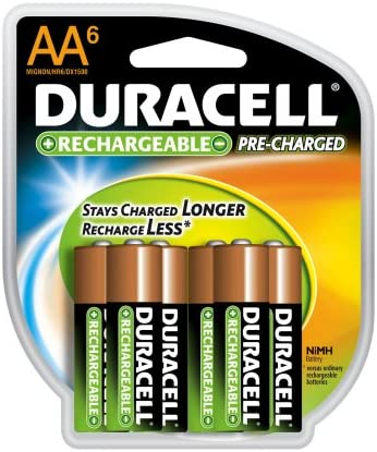 price sold out Duracell Pre Charged Rechargeable Batteries 6-pack AA Nimh