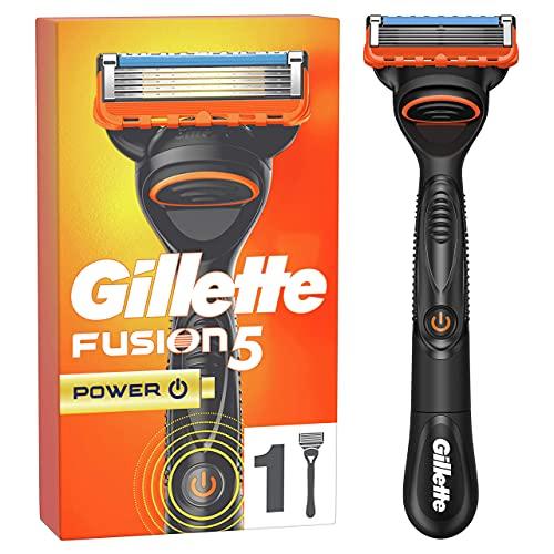 Gillette Fusion 5 Power Maquinilla de Afeitar Hombre con Hojas Antifricción
