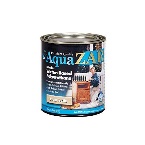 ZAR 32512 Aqua Water Based Polyurethane, Satin