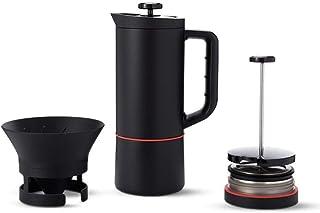 Maquina de cafe SKTY actualizar 6 en 1 Moka Pot, French Press Pot, Frío Extracción Pot, Hervidor, Tetera, hecha a mano Caf...