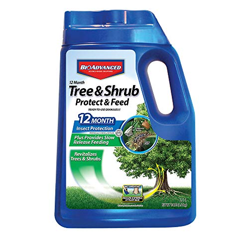 Bayer Advanced 701720 12 Months Tree and Shrub Protect and Feed Granules, 10-Pound (Not Sold in NY) (Siem Logging Best Practices)