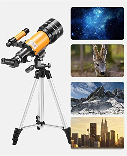 LCH.W Telescoop Voor Kinderen Natuur Exploratie Draagbare Reizen Refractor Telescoop Met Statief En Finder Scope Nachtzicht Voor Beginners Kinderen Maanzicht
