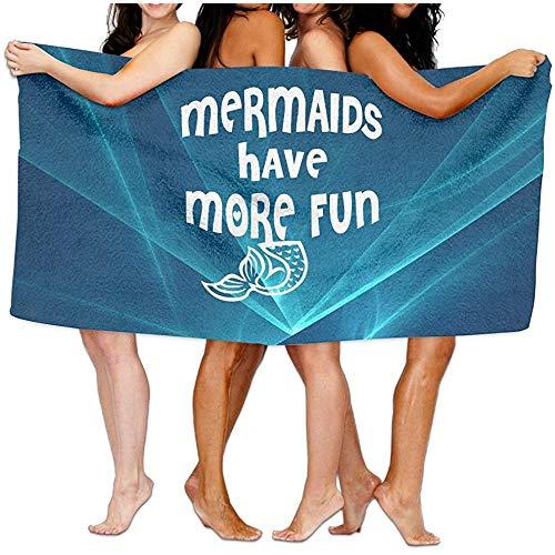 Babydo bad Sheet Mermaids Have More Fun zwembad handdoek bad handdoeken Sheet 80X130cm