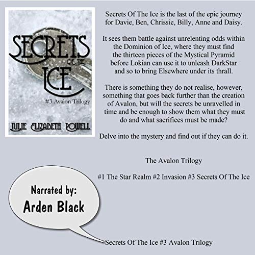 Secrets of the Ice audiobook cover art
