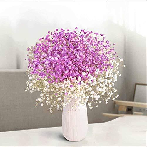 Jiuheng Künstliche gefälschte sternenklare Blumenstraußanordnung, die Inneneinrichtungsblume Wedding ist@Lila weißer Stern
